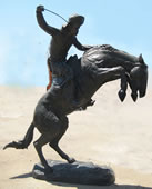 The Bronco Buster Bronze Statue, Extra Large