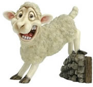 BaaBara the Sheep Statue