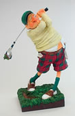 The Golfer- Comic Statue by Forchino