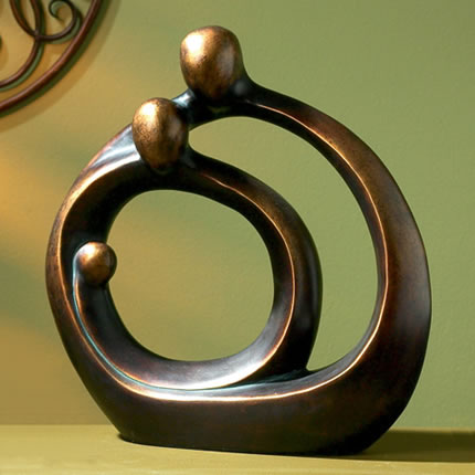 Family Circles Sculpture