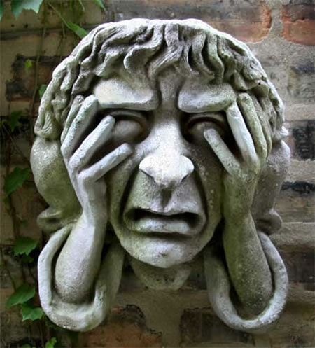 Melancholy Of Oxford Wall Plaque Fiberstone All Products
