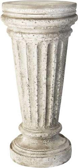 Buff Pedestal Fiberstone All Products Fs35011