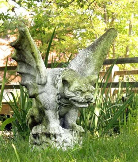 Gargoyle Garden Statue  Large