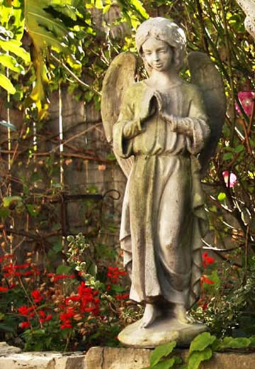 Garden Angel Statue Fiberstone All Products Fs7905