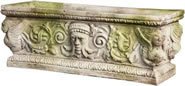 Greenman Rectangular Urn