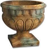 Garden urns garden decor home for Fancy flower pots