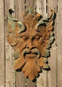 Ancient Florentine Man Wall Plaque