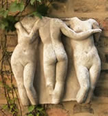 Three Graces Wall Plaque