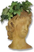 Apollo Bust Planter