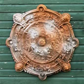 Intorno Medallion Wall Plaque