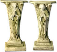 Devotion Angel Pedestals, Set of 2