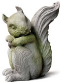 Forest Squirrel Statue