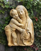 Madonna and Child Wall Plaque