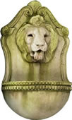 Aged Lion Wall Fountain