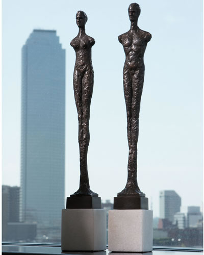 Contemporary Man and Woman Pair