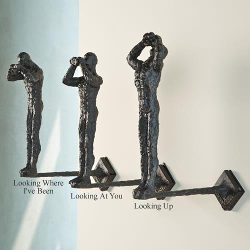 Global Views Metal Sculpture: Looking At You Wall Sculpture, Global-Views-All-Products