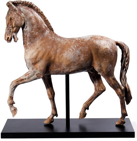 Ancient Italian  Horse Sculpture
