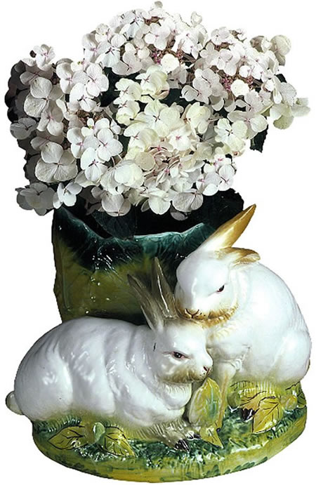 Bunny Rabbit Planter