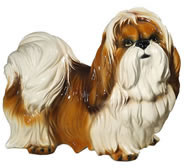 Shih Tzu Dog Sculpture