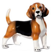 Standing Beagle Sculpture