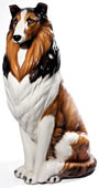 Collie Sculpture, Large
