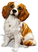 King Charles Spaniel Sculpture