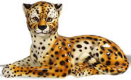 Cheetah Sculpture- 17 Inch