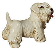 Terrier Puppy Sculpture
