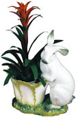 Standing Bunny Rabbit Planter