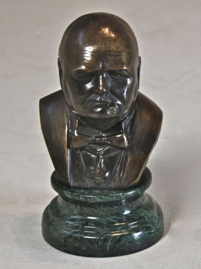 Winston Churchill Bust- Small