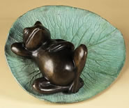 Sleeping Frog Fountain Spitter