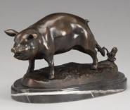 Bronze Pig-Small