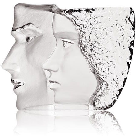 Together Crystal Couple Sculpture