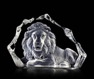 Crystal Lion Sculpture I
