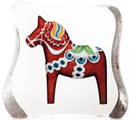 Dalecarlia Horse, Large/Red