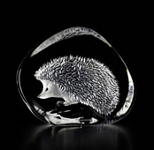 Crystal Hedgehog Figurine