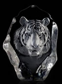 Crystal Tiger Sculpture I