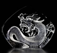 Crystal Dragon Statue, Large