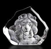 Crystal Lion Sculpture II