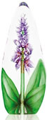 Purple Orchid Sculpture- Crystal