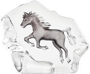 Leaping Crystal Horse Sculpture-Small