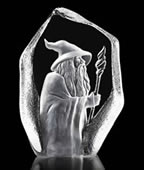 Gandalf Crystal Sculpture