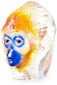 Monkey Business I Crystal Sculpture