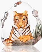 Tiger Crystal Sculpture