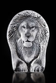 Crystal Lion Statue