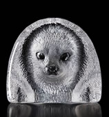 Crystal Baby Seal Statue