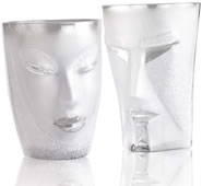 Kubik and Electra Tumbler -Clear- 2-Pack