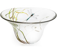 Dragonfly Crystal Bowl, Limited Edition