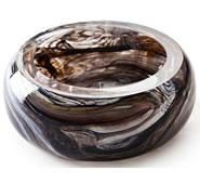 Crystal Marbleized Bowl
