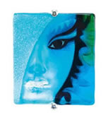 Blue Afrodite Wall Mask